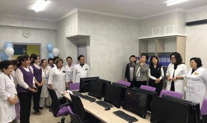 В поликлинике Алматы создали ситуационный центр